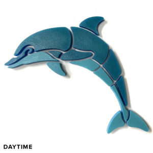NUVO-Glo Glow in the Dark Dolphin Mosaic