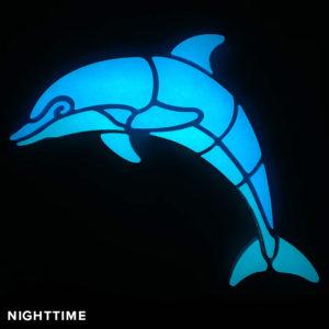 NUVO-Glo Glow in the Dark Dolphin Mosaic