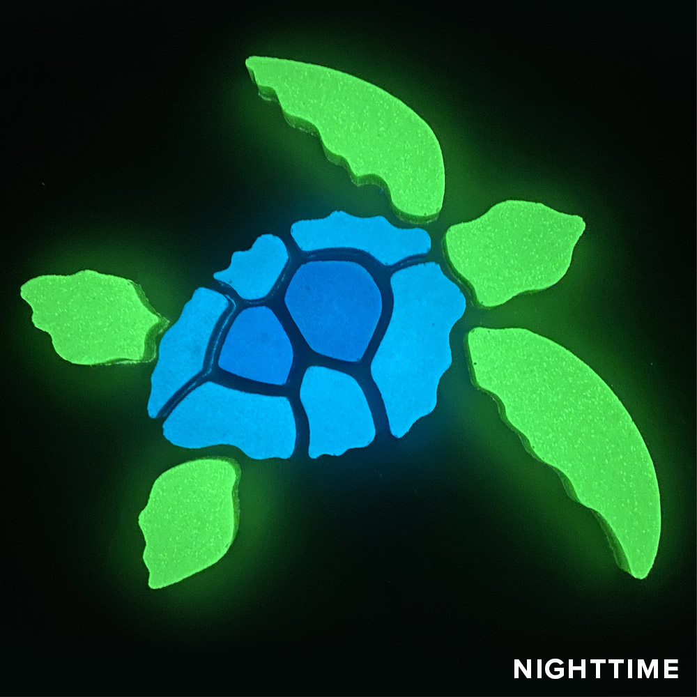 Turtle Glow Mosaic