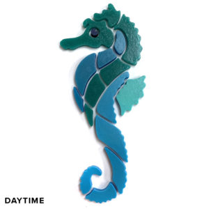 NUVO-Glo Glow in the Dark Seahorse Mosaic